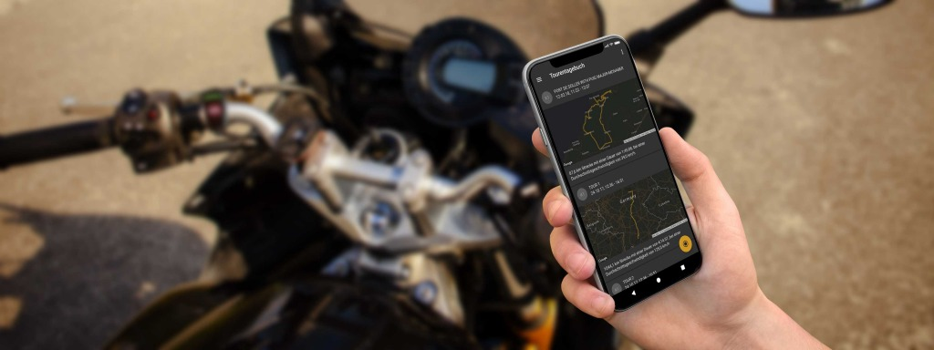 dguard Tour diary gives you an overview of your greatest motorcycle tours